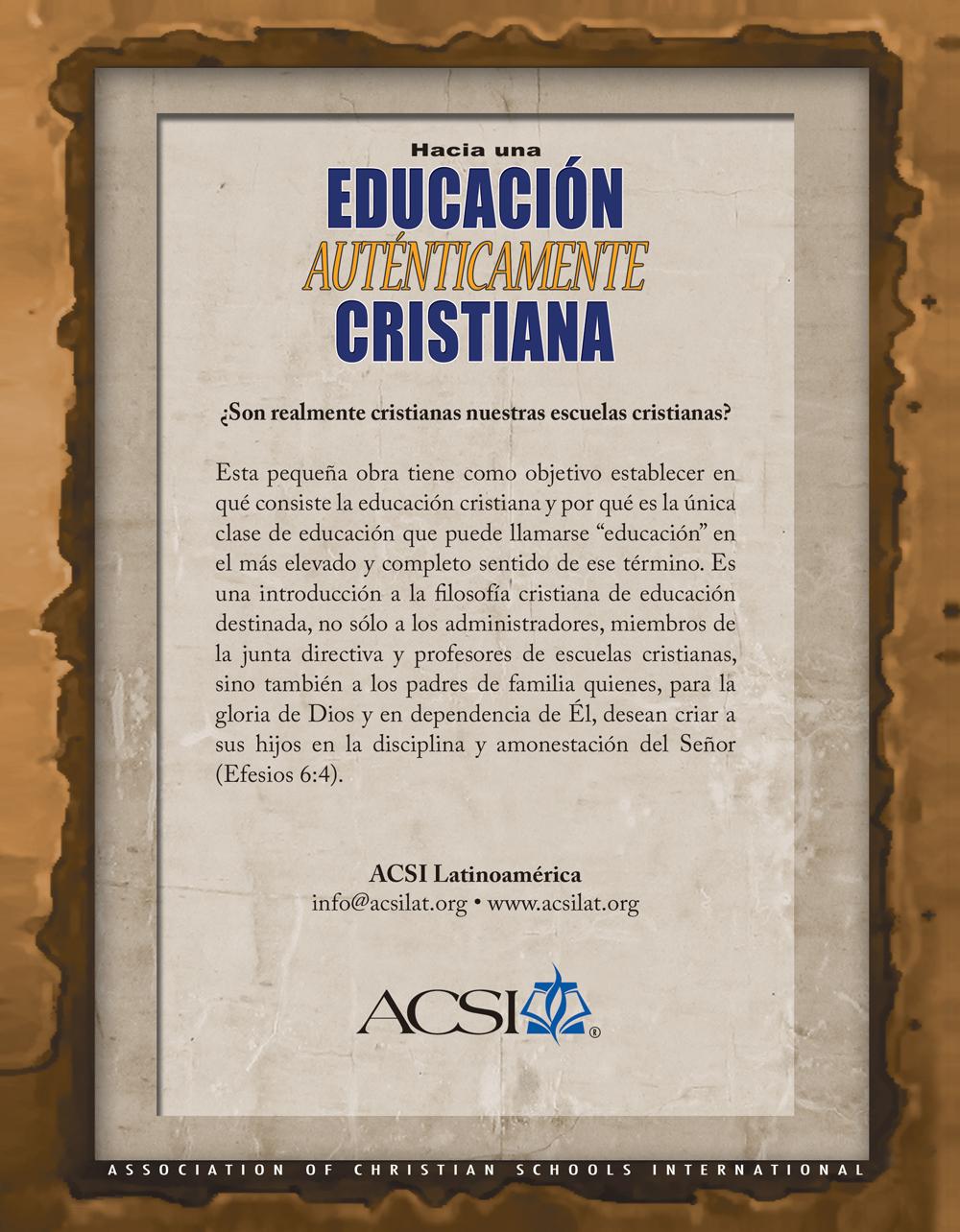 Educación Auténticamente Cristiana, eBook